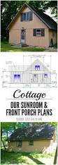 sunroom plans cottage renovations front porch and sunroom plans