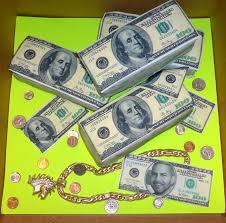 edible money money birthday cake cakecentral