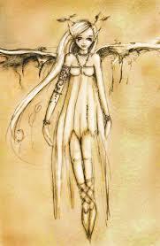 sepia fairy by pixie lyrique on deviantart