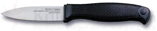 cold steel kitchen knives cold steel kitchen paring knife 3 blade knifecenter 59kpz