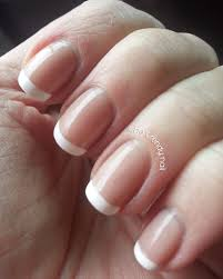 classic french manicure the trendy nail