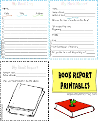 grade book report template printable book report forms elementary inspired by family