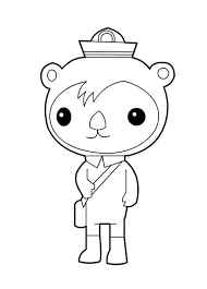 octonauts coloring pages movies tv show coloring pages
