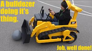 toy trucks for kids battery operated caterpillar bulldozer ride