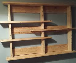 Simple Wooden Shelf Design by Pallet Shelves Simple And Fabulous Home Decorations