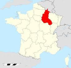 France Region Map by Champagne France Map Recana Masana