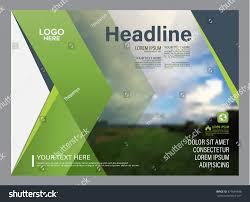 cover report template greenery brochure layout design template annual stock vector greenery brochure layout design template annual report flyer leaflet cover presentation modern background illustration