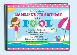 pool party birthday invitations free tags pool party birthday