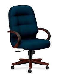 Blue Leather Executive Office Chair Executive U0026 Conference Chairs Hon Office Furniture