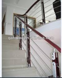 contemporary interior stair railings oak u0026 stainless steel