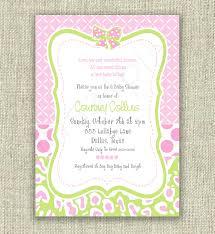 photo baby shower invitation wording image