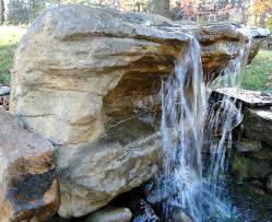 Rock Garden Waterfall Cave Rock Waterfalls Backyard Pond Less Pool Waterfalls Rock