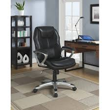 Leather Executive Desk Chair Black Leather Office Chair