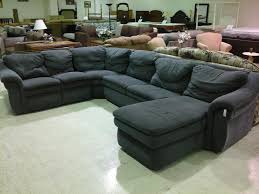 Comfy Sectional Sofa by Decorating Comfortable Sectional Sleeper Sofa In Solid Black For