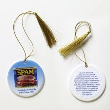 bacon spam and pickles ten wacky ornaments miami