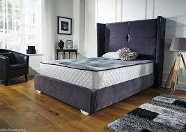Richmond Bed Frame Sleep Pose Richmond Wingback Storage Bedframe