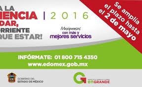 Ultimo Dia Para Pagar Refrendo Edomex 2016 | edomex extiende plazo para pagar la tenencia