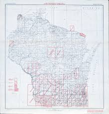 Maps Of Wisconsin by