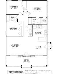 Small 3 Bedroom House Floor Plans Small 3 Bedroom 1 Bath House Plans Floor Plan For A Small House 1