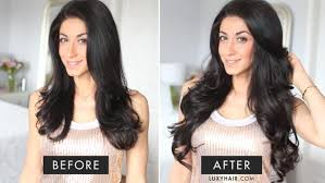 hair extensions in hair frizzy hair blowout routine how to blend hair extensions with