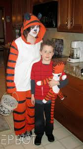 spectacular halloween costumes images of calvin and hobbes halloween costumes calvin hobbes