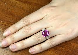 pink sapphire rings images Natural unheated pink sapphire ring the natural sapphire company png