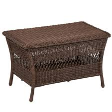 hampton bay outdoor coffee tables patio tables the home depot