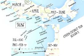 Costa Rica Airports Map Season 2 U2013 Costa Rica To Ecuador 2016 Sailing Green Coconut Run
