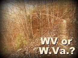 Abbreviated Map Of The United States by Wv W Va Which Abbreviation For West Virginia Is Correct West