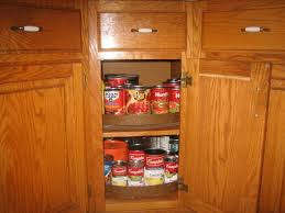 Lazy Susan Cabinet Hinges - Lazy susan in kitchen cabinet