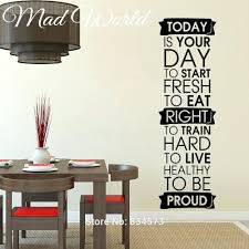 Wall Art Stickers And Decals by Wall Ideas Muscle Men Stength Gym Fitness Wall Art Sticker