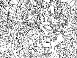 free coloring pages mermaids coloring pages ideas