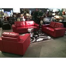 leather sofa atlanta lacrosse atlanta red bonded leather sofa loveseat and chair at