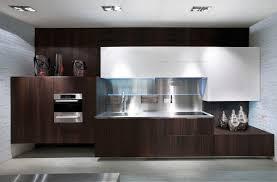 contemporary kitchen wood veneer lacquered monforte scic