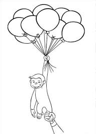 unique balloons coloring page 20 5666