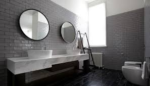 subway tile in bathroom ideas subway tiles in 20 contemporary bathroom design ideas rilane