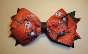 skellington ribbon skellington bow