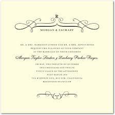 formal wedding invitation swirls formal wedding invitations 4 71 weddinginvitations