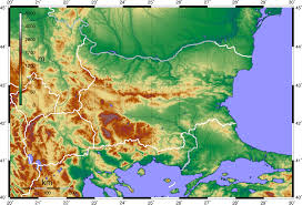 Map Of Balkans Topographic Map Greece Greece Map