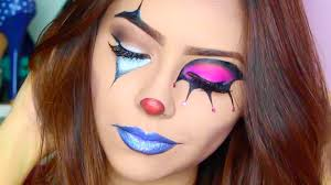 circus halloween makeup tutorial youtube