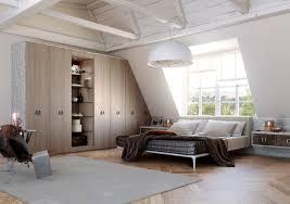 placard encastrable chambre design interieur placard sous pente bois sur mesure chambre