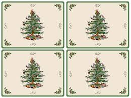 pimpernel christmas tree placemats set of 4 pimpernel usa