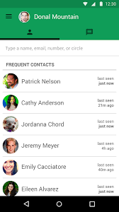 hangouts app for android hangouts uplabs