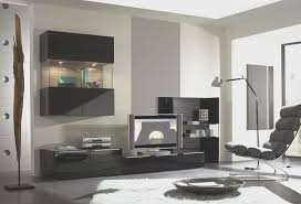 living room view modern set of living room furniture wall tv