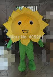 Sunflower Halloween Costume Buy Wholesale Flower Mascot Costume China Flower