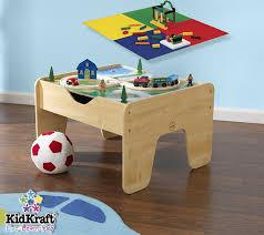 amazon com kidkraft lego compatible 2 in 1 activity table toys