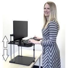 Computer Schreibtisch H Enverstellbar Aliexpress Com Sitzen Stand Riser Höhenverstellbar Leichte