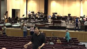 jung ho pak behind the scenes at cape symphony rehearsal youtube