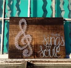 music note home decor music note sign string art treble clef religious home decor
