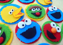 sesame cake toppers 36 sesame edible cupcake toppers reserved sesame streets